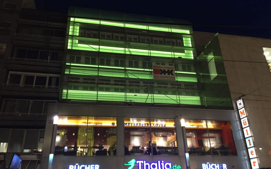 LED Fassadenbeleuchtung Karlsruhe